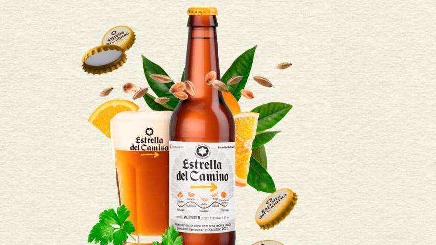 """Estrella Galicia lanza una cerveza """"peregrina"""" de edición limitada"""