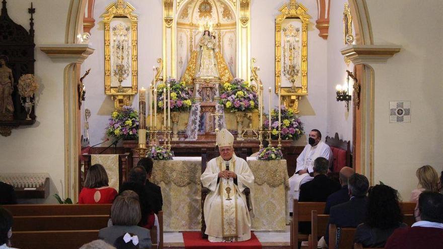 El obispo declara santuario la ermita de la Virgen de la Antigua de Hinojosa del Duque