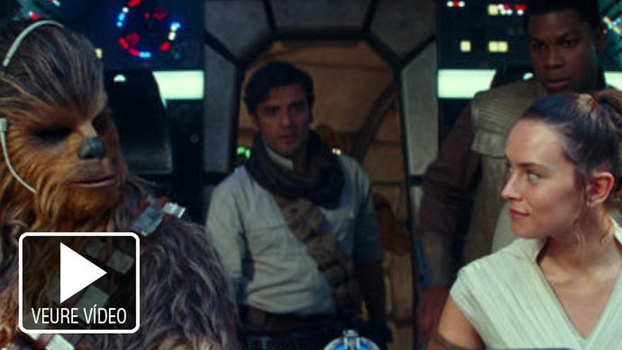Star Wars tanca trilogia amb 'L'ascens de Skywalker'