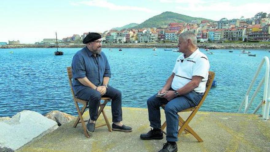 'Caderno de Bitácora' mergúllase no mar poético co mariñeiro Maruxo