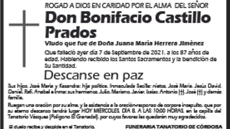 Bonifacio Castillo Prados