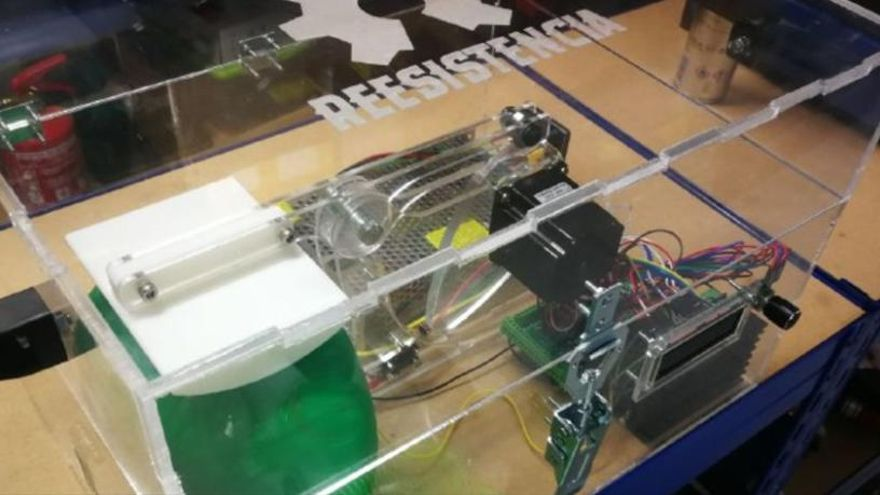 Respiradores, viseras... Impresión 3D ante la falta de material sanitario
