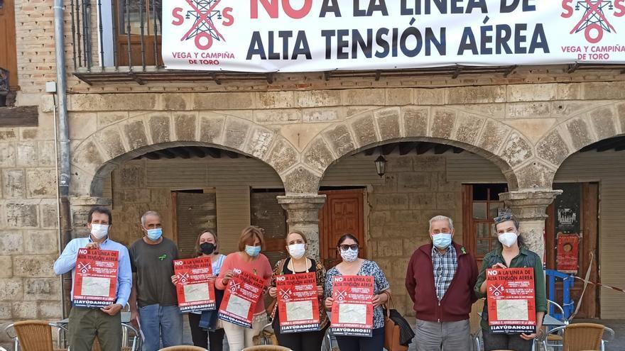 """""""SOS vega de Toro"""" convoca una movilización contra la línea de alta tensión"""