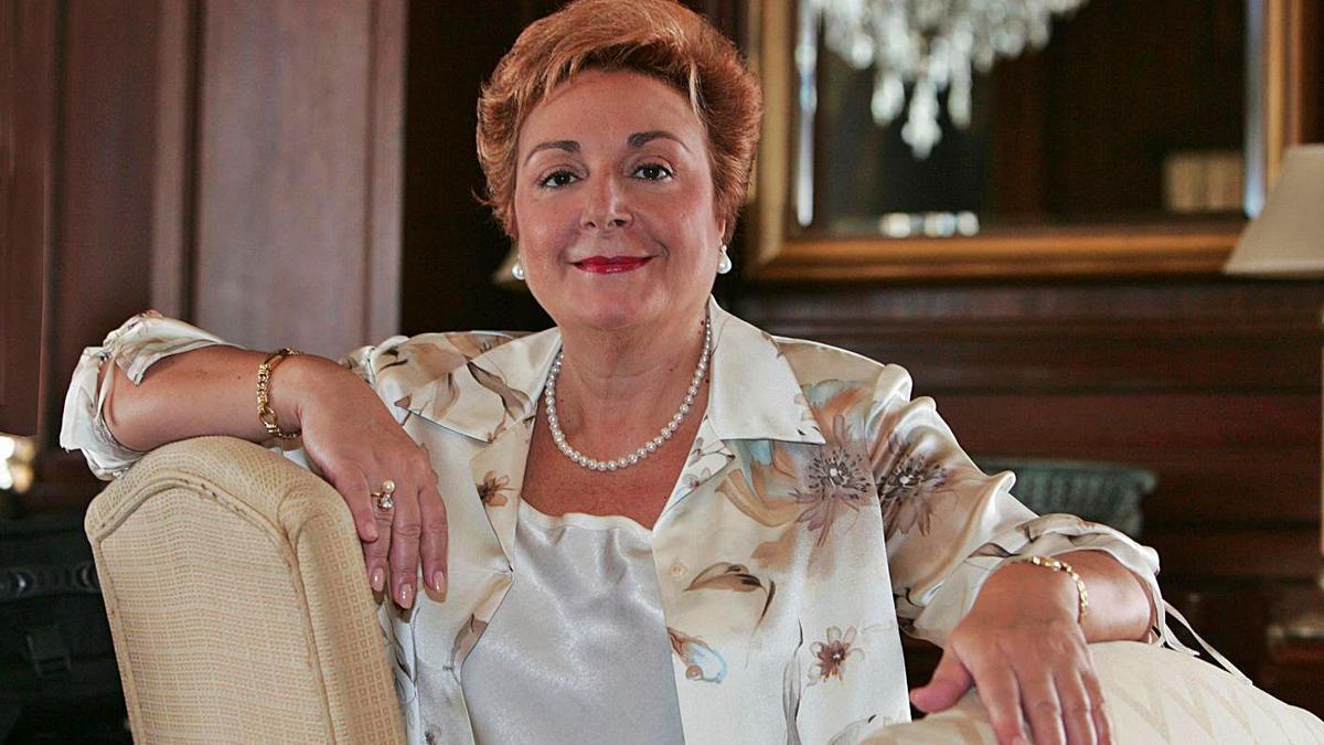 La soprano tinerfeña María Orán, a la que se le rinde tributo con este certamen de música. | | EL DÍA