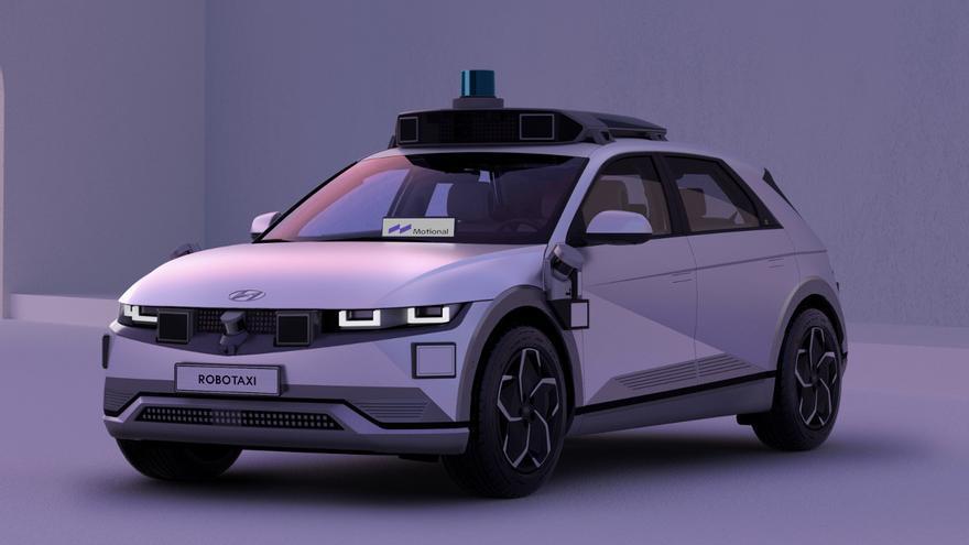 Ioniq 5 robotaxi, el nuevo taxi autónomo sin conductor