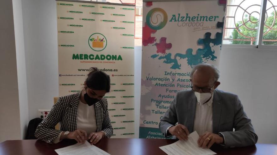 Mercadona colabora con la asociación San Rafael de Alzheimer