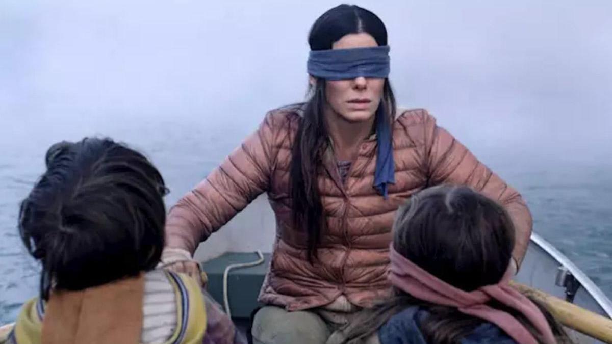 Sandra Bullock, en una imagen de 'A ciegas'.