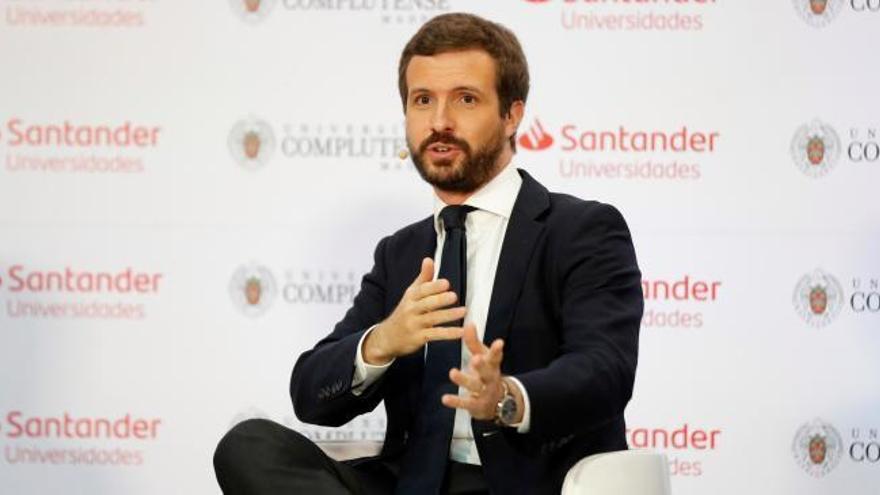 """Casado afea a Sánchez ir a la cumbre de la UE """"sin los deberes hechos"""""""