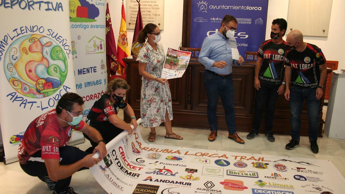 Presentación de la Peñarrubia Lorca Trail.