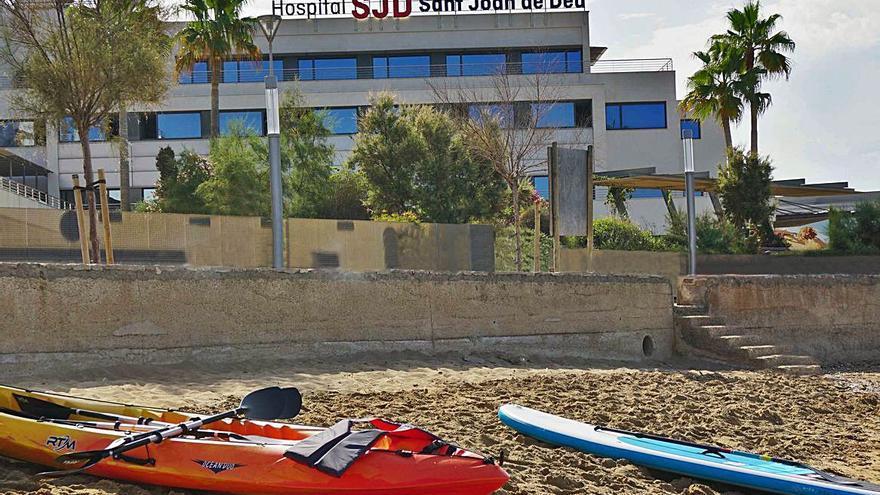 Terapia con kayak en Sant Joan de Déu