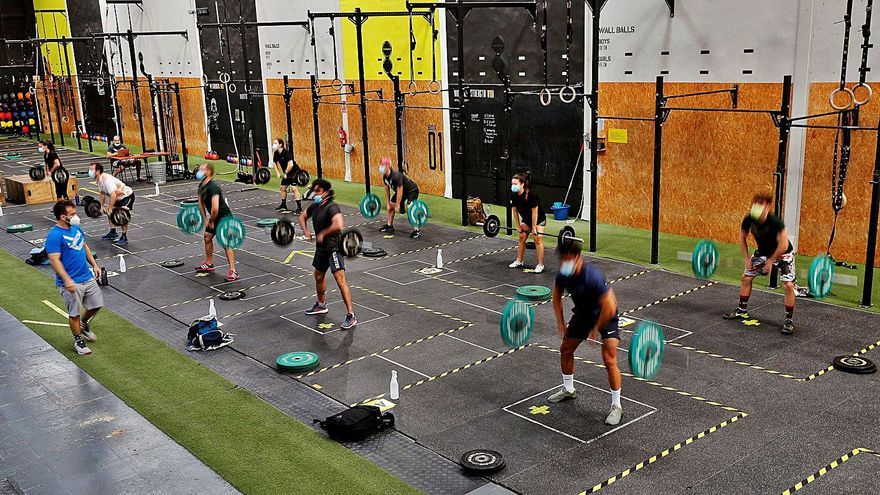 Los gimnasios pierden músculo