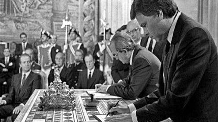 Mor Fernando Morán, negociador de l'entrada d'Espanya a Europa