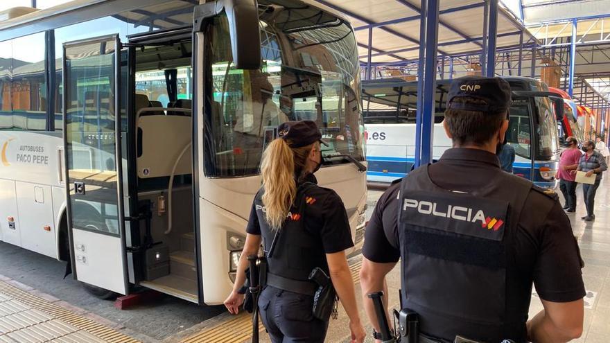Detenido en la estación de autobuses un fugitivo reclamado por las autoridades de los Países Bajos