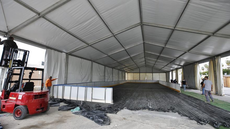Torrevieja contará con una pista de hielo de 700 metros cuadrados estas navidades