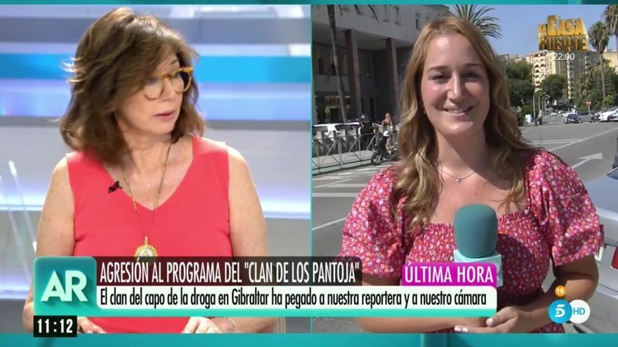 Los Pantoja propinan una paliza a una reportera del programa de Ana Rosa