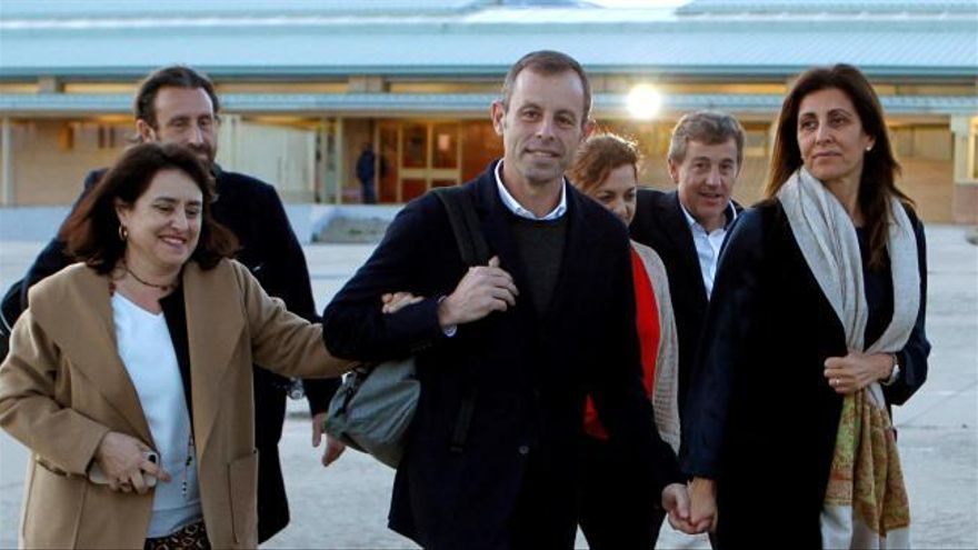 La Audiencia Nacional deja en libertad condicional a Rosell