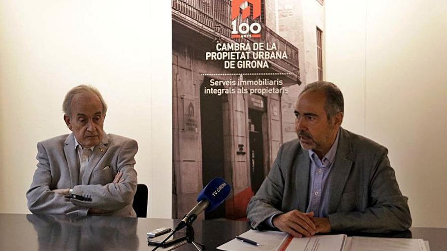 La Cambra de la Propietat s'oposa a declarar Girona com a zona de mercat tens