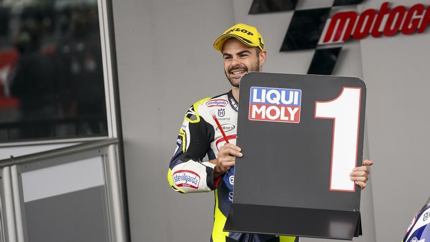 Romano Fenati, ganador de Moto3 2021 en el circuito de Silverstone