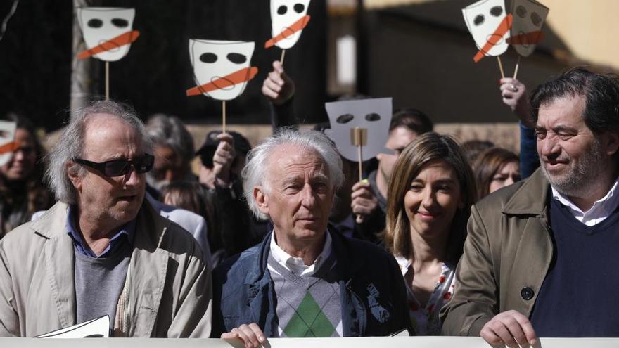 Tabàrnia es manifesta a Jafre contra el nacionalisme català i en suport a Albert Boadella