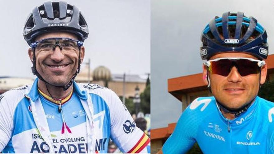 La representación alicantina en el Giro 2018