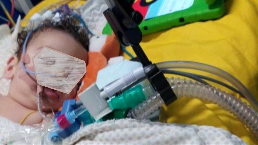 Satur, un bebé malagueño de nueve meses hospitalizado en Inglaterra