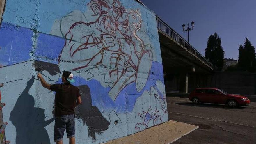 Vetusta se pasa al grafiti