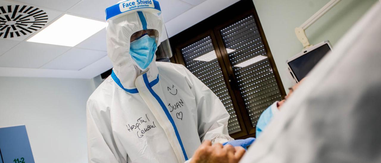 Así avanza el coronavirus en cada área sanitaria de la Comunidad Valenciana