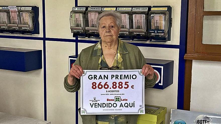Un premio de más de 866.000 de la Bonoloto cae en Culleredo