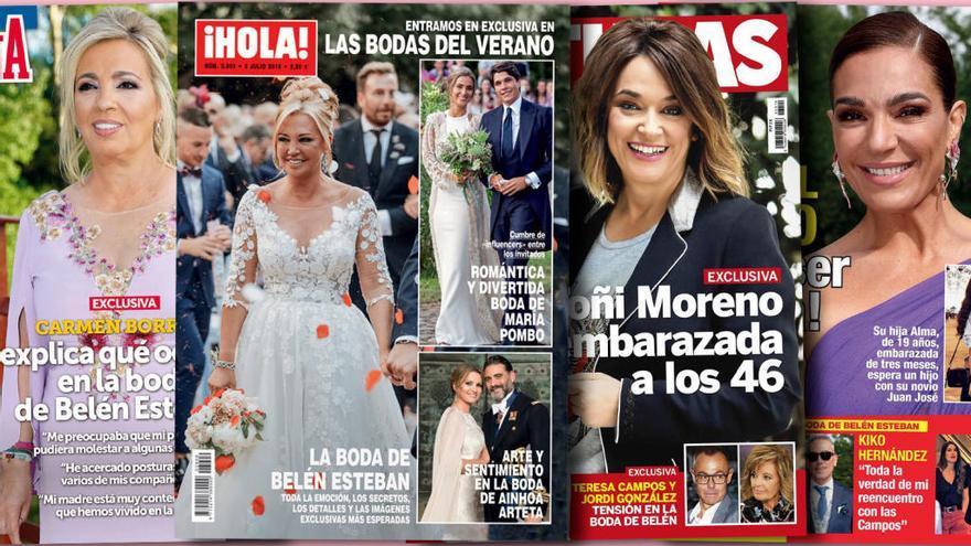 Belén Esteban, la novia de España a la que nadie hace sombra