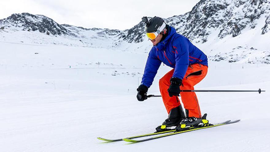 Cómo prevenir lesiones de rodilla en el esquí