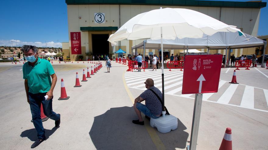 La incidencia del coronavirus en la provincia de Alicante escala 30 puntos en tres días hasta 107 casos por 100.000 habitantes