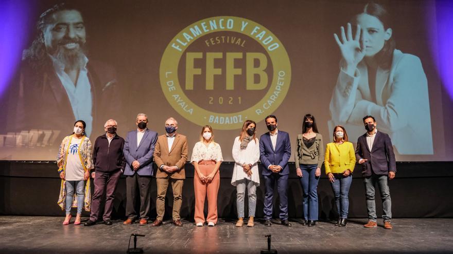 El Festival de Flamenco y Fado de Badajoz se reanuda con El Cigala y Carminho