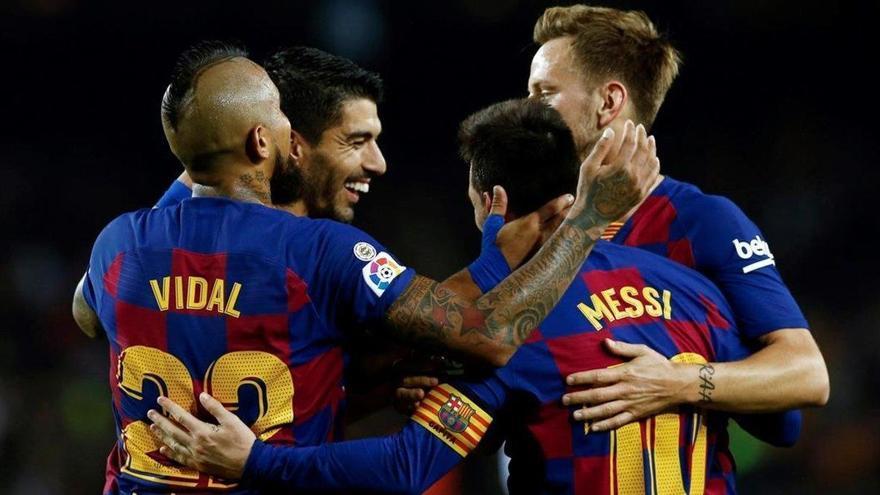 El Barça conquista el liderato más reñido