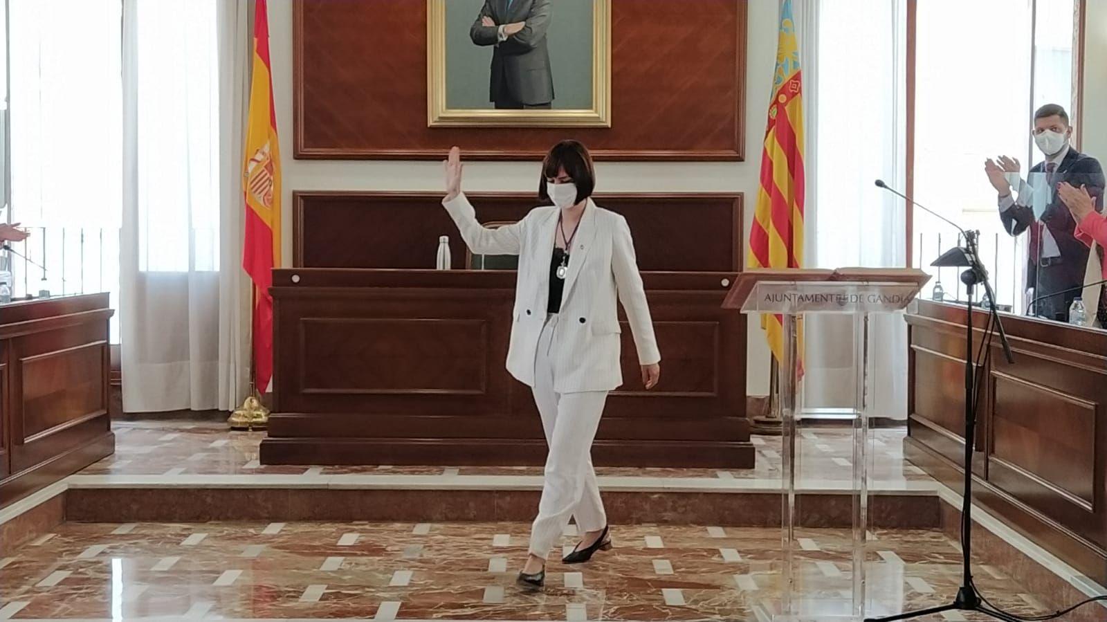 Diana Morant se despide como alcaldesa de Gandia