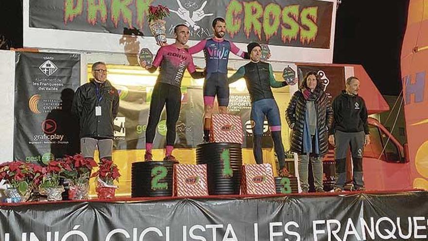 Triunfo con remontada  de Salmerón en la Copa Catalana de ciclocross