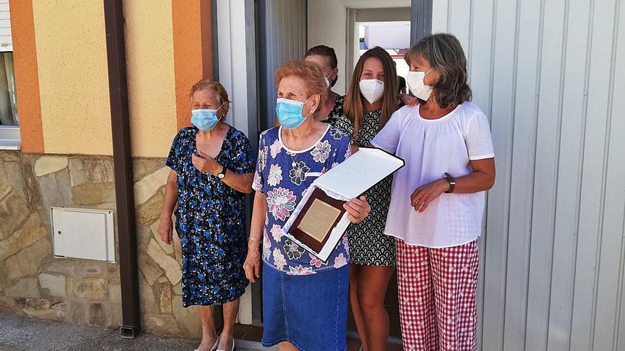 Camarzana rinde homenaje a los vecinos que han cumplido 85 años en 2020