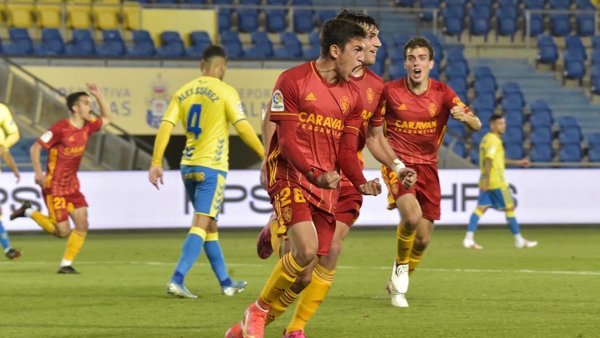 Sanabria celebra su gol, el segundo del equipo