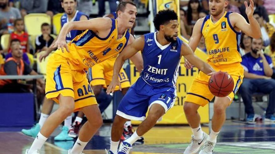 Eurocup de baloncesto | Herbalife 97 - Zenit 87