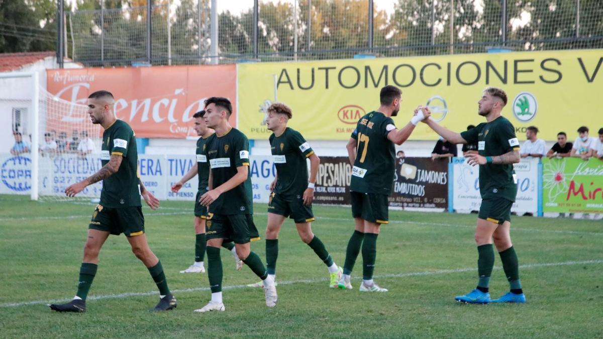 Las imágenes del CD Coria - Córdoba CF