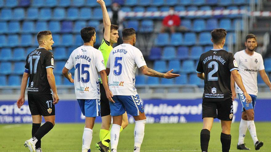 Alberto condena al Tenerife