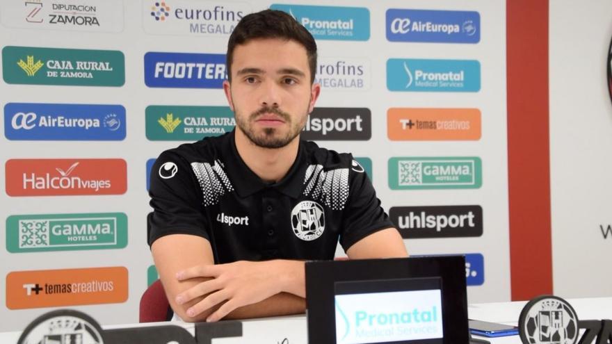 Zamora CF   Adri Herrera sufre un desgarro en el menisco