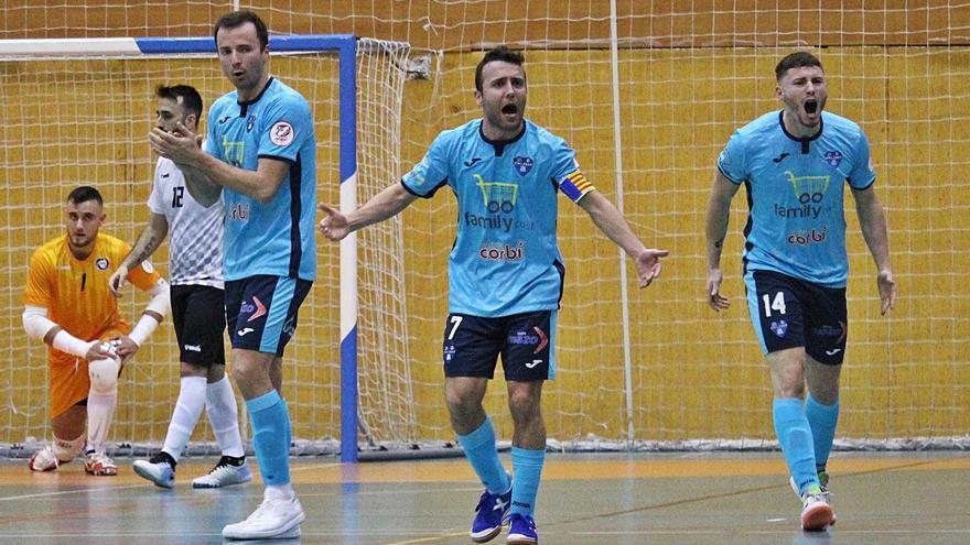 El Alzira FS abre la segunda fase con una contudente goleada en Rivas (2-6)