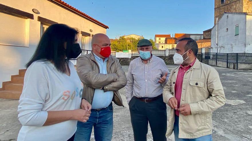 Agrupación del PSOE en Santa Cruz de Paniagua