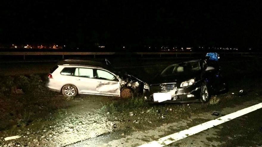 Dos fallecidos en un accidente de tráfico esta madrugada en Los Alcázares