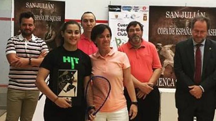 La pinatarense Cristina Gómez gana la Copa de España