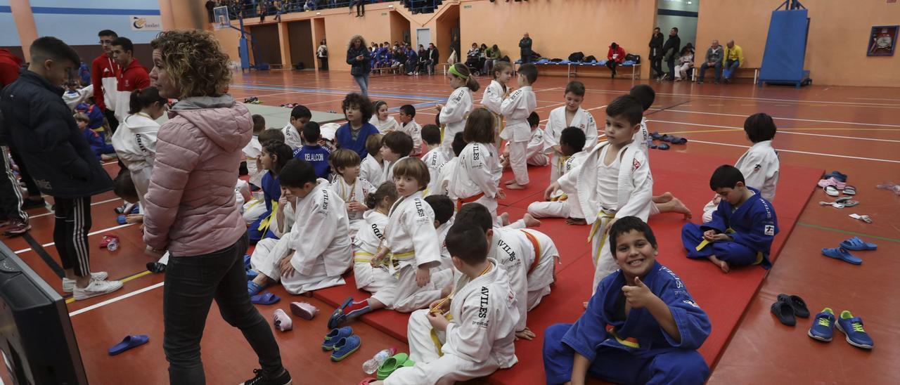 Torneo de judo en Avilés