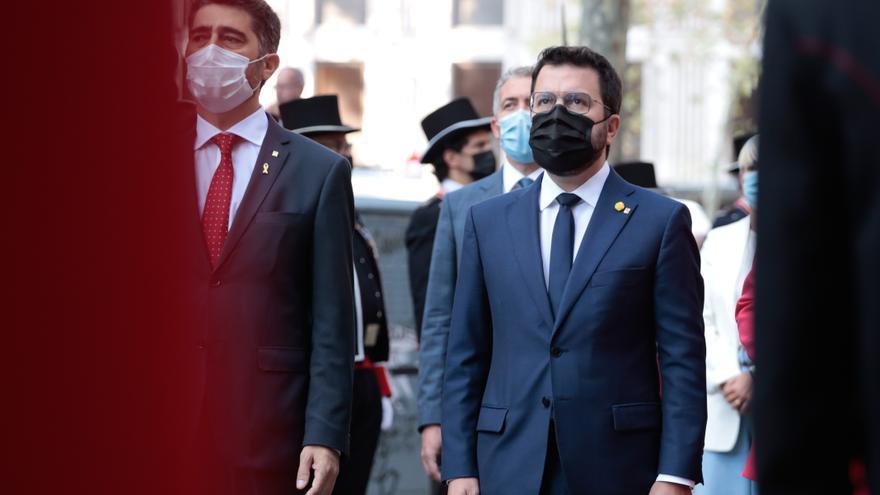 Aragonès cita Puigneró al Palau després del xoc per la taula de diàleg