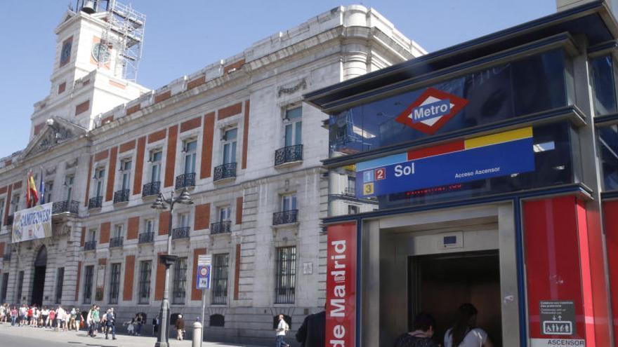 La Puerta de Sol quedará totalmente peatonalizada