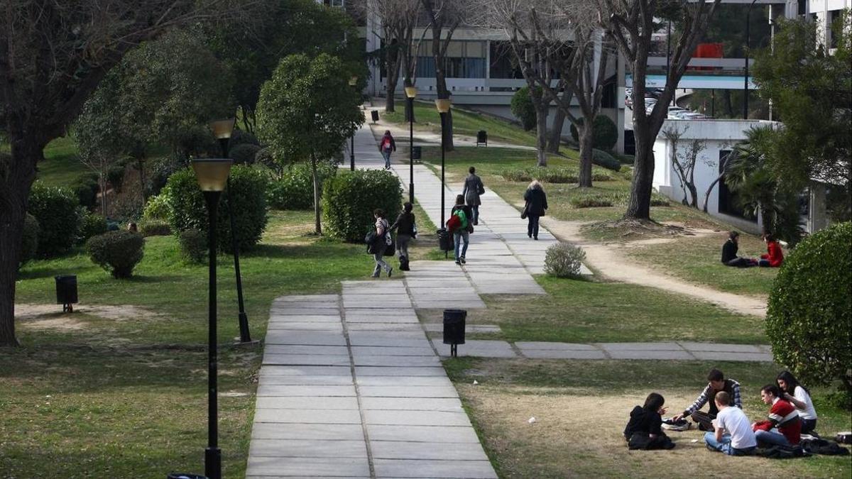 El campus de la UAB, en una foto de archivo.