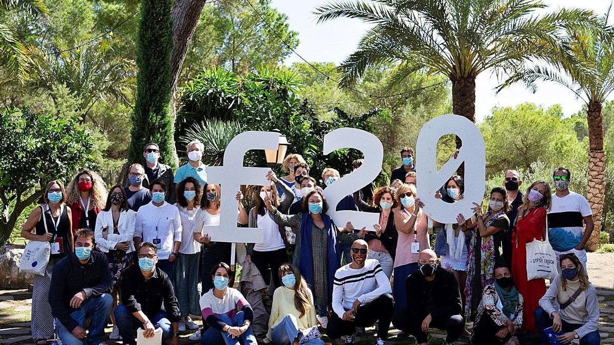 Participantes en el Formentera20 de la pasada edición.
